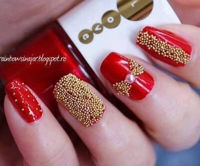New Valentine's Love Nail Designs 2013 For Girls & women (3)