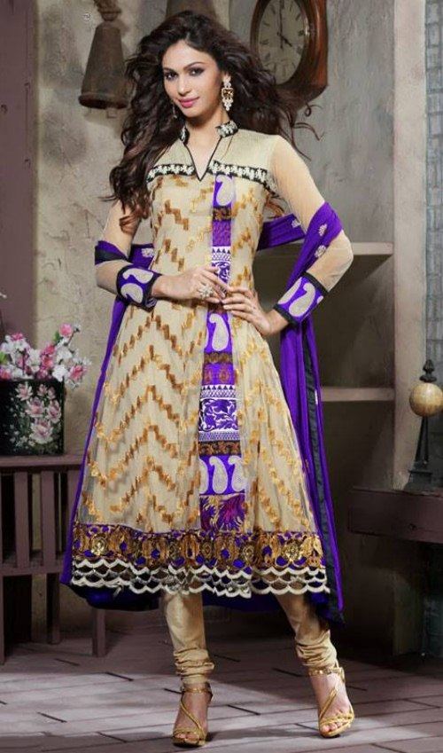 Luxury  Churidar Anarkali Salwar Suit Dress Material  Dresses  Women