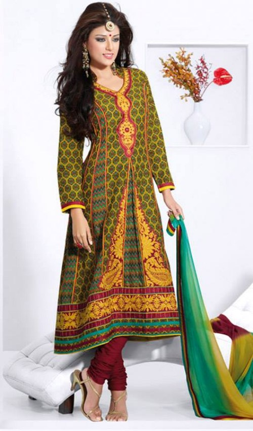 Churidar suits designs collection