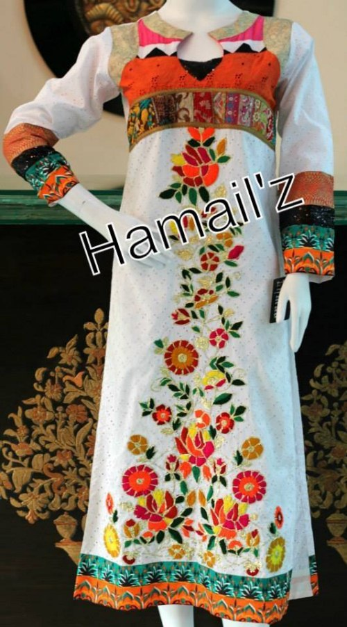 Hamailz Hand Embroidery Ready To Wear Dresses 10