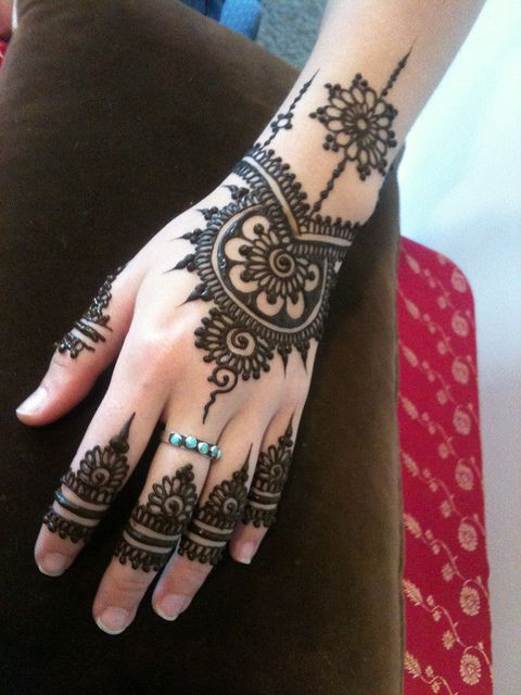 Mehndi Designs For Hands Eid : Mehndi designs arabic video for hands simple and easy