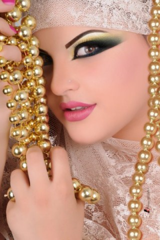 Full Bridal Makeup Tips : Tips For UAE Bridal Makeup (11) : Latest Bridal Dresses ...