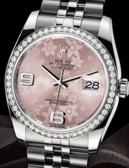 rolex diamond shape