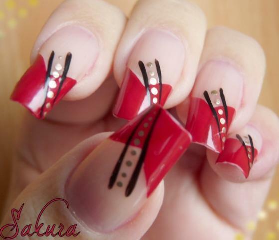 New Valentine's Love Nail Designs 2013 For Girls & women (9)