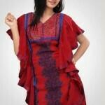 long dress by Yashir Waheed