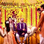 atif aslam nice and trendy wedding picture