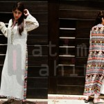 Fatima Tahir trendy summer dress collection 2013 (2)