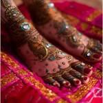 trendy feet mehndi design