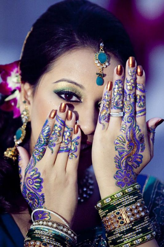 formal mehndi design