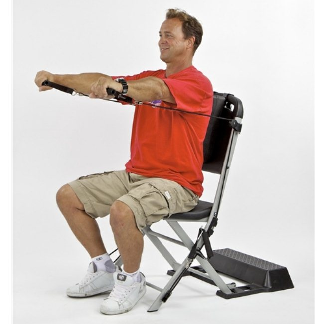 Chair Exercise to loose your weight (5)