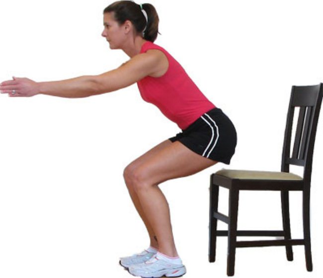Chair Exercise to loose your weight (1)