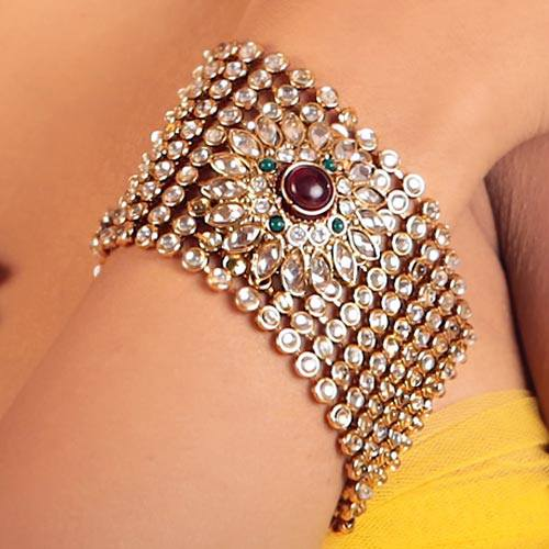 Gold Plated Bridal Bangles for women (4)