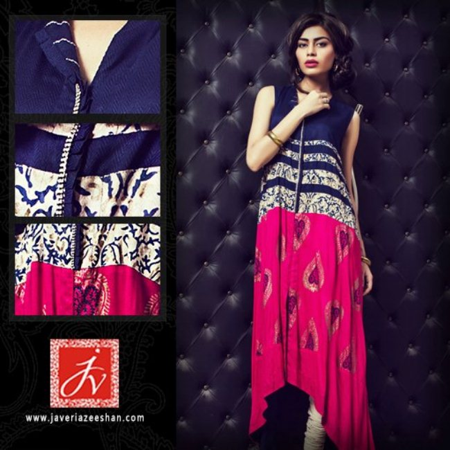 Javeria Zeeshan summer lawn dress collection 2013 (10)