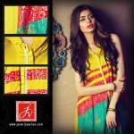 Javeria Zeeshan summer lawn dress collection 2013 (1)
