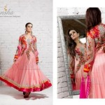 Mansha Latest Spring summer party wear dress collection (4)