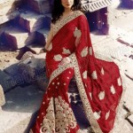 Natasha Couture Party saree and lehnga collection (9)