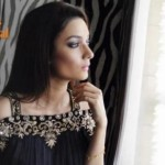 New Spring party wear dress collection by saadia asad (5)