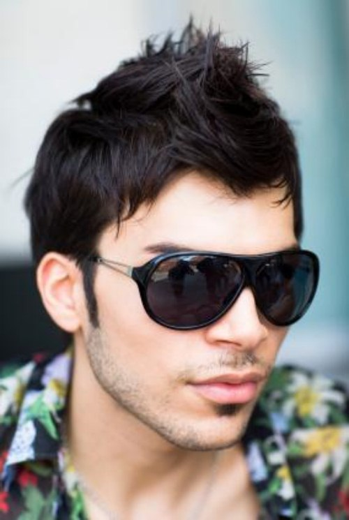 Party Hairstyle for men (4)