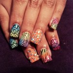 Women trendy Nails style (6)