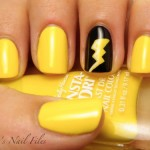Yellow Nails for women 2013 (2)
