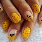 Yellow Nails for women 2013 (4)