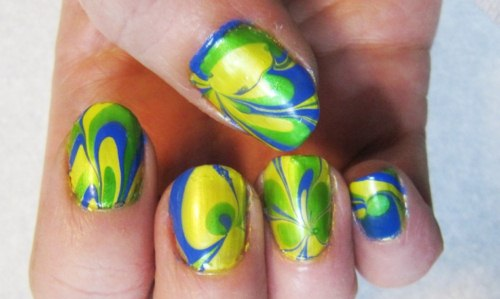 Yellow Nails for women 2013 (6)