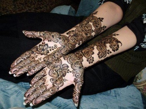 Arabic Mehndi Designs for girls 2013-2014 (1)