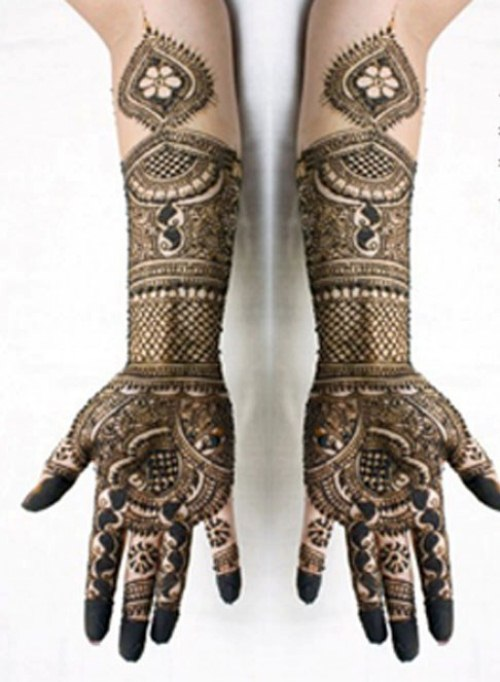 Arabic Mehndi Designs for girls 2013-2014 (2)