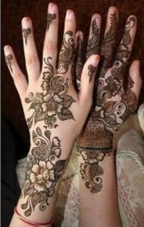 Arabic Mehndi Designs for girls 2013-2014 (5)