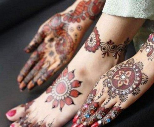 Arabic Mehndi Designs for girls 2013-2014 (6)