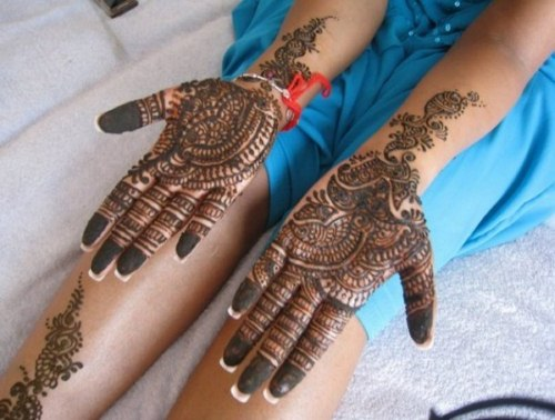 Arabic Mehndi Designs for girls 2013-2014 (7)