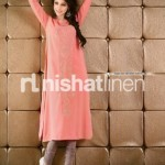 Stylish Nishat linen eid collection 2013 for women