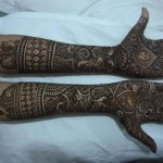 Bridal Stylish Mehndi Design (10)
