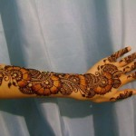 Bridal Stylish Mehndi Design (2)