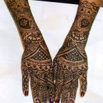 Bridal Stylish Mehndi Design (5)