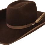 Cowboy leather hat (1)