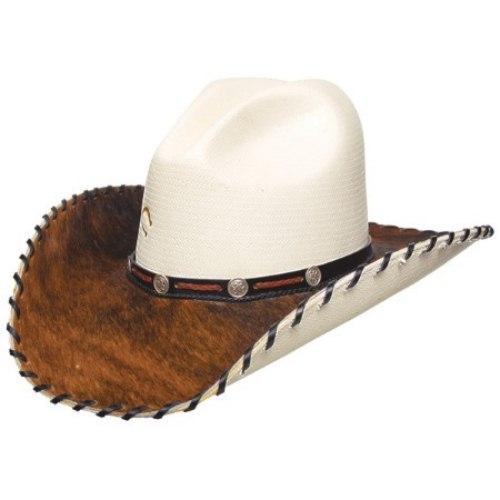 Cowboy leather hat (4)