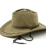 Cowboy leather hat (5)