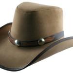 Cowboy leather hat (8)