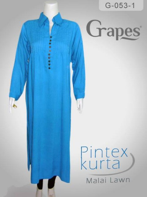 pintex kurta for women by Grapes the brand