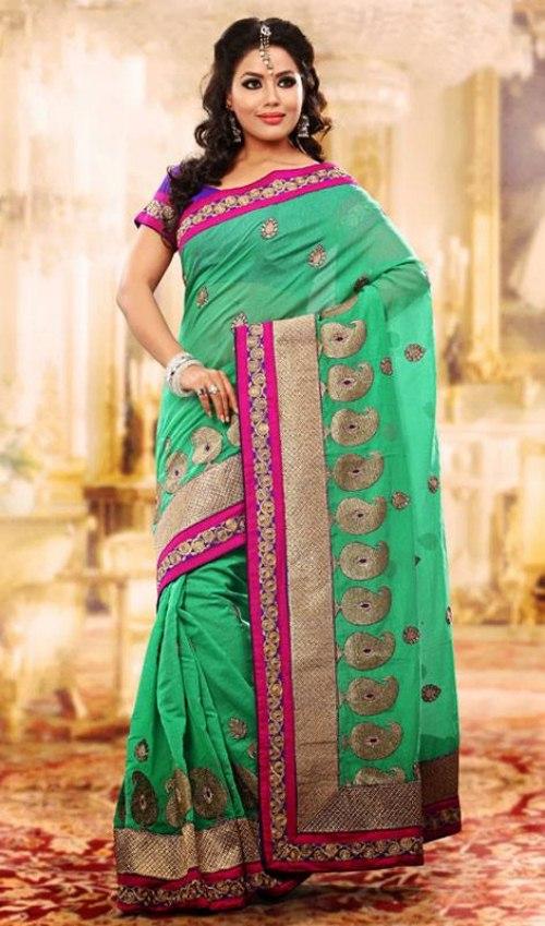 Beautiful And Stylish Indian Saree Dress For Women 2013