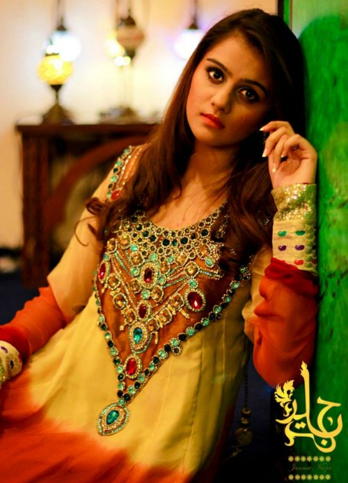 Jannat Nazir Party Collection By Zahra Ahmad (5)