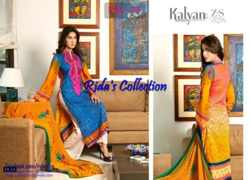 Kalyan Lawn Prints EID Dress By Z.S Textiles (2)
