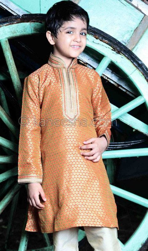 Kids Wedding Sherwani dress 2013 (1)
