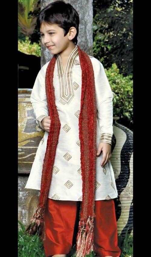 Kids Wedding Sherwani dress 2013 (2)