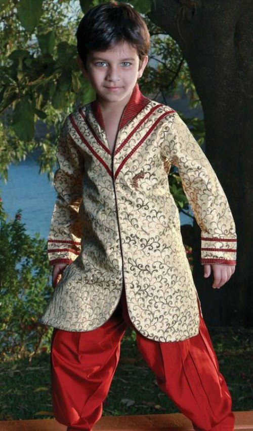 Kids Wedding Sherwani dress 2013 (3)