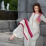 Lakhany Silk Mills Fabric Kurti collection for girls (1)