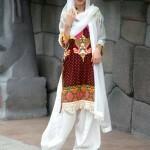 Lakhany Silk Mills Fabric Kurti collection for girls (5)