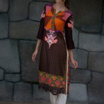 Lakhany Silk Mills Fabric Kurti collection for girls (7)