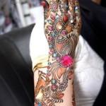Mona's Stylish Menhdi designs for girls 2013 (12)